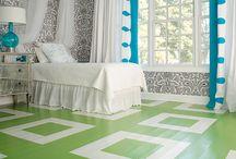 bedroom design / by Ellen Christian