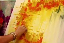 construccion de cuadros abstractos