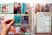 scrapbook, projects life, smash book e travel journals