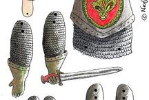 средневековые латы