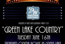 Discover Wisconsin / The Green Lake Country area will be featured on Discover Wisconsin on the weekend of June 20th.