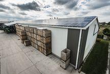 Napelem ipari célra / Ipari épületekre, gyárakra, raktárakra telepített referencia napelemes rendszereink
