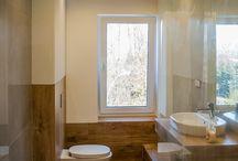 KRES-KA wnętrza- projekt: natura łazienka
