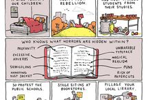banned books / by Heather Butler