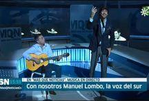 """Presentación """"Músicaemoción"""" en """"Más que noticias"""" de Canal Sur TV"""