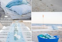 Beach Weddings / If you're having a beach themed wedding, check this board and you'll get inspired by these beach wedding colors and ideas.