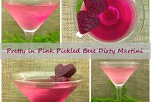 Beet Cocktails and Mocktails