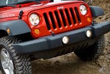 My Red Jeep / by Julie Hidder