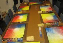 schilderen nat in nat