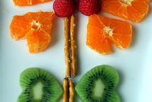 trucos para que los niños aprendan a comer verdura y fruta de forma divertida