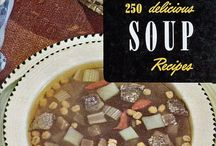 soup, salad and sauces