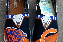"""Bear Down Chicago Bears!  / A fun spot to share my love of my """"home"""" town football team!  Chicago Bears Baby!"""