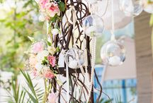 Flower decor / Wedding fairy tale