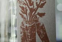 PROCESS: Linoleum Prints