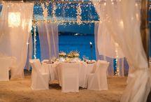 beach wedding: romantic ideas