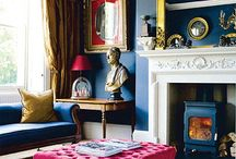 Bold Blues / A bold, bright, or subdued blue is eye-catching in any space.