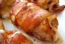 Pechugas de pollo rellena