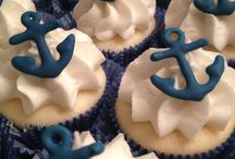 Kate's baby shower cupcakes