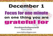 Manifesting Advent Calendar