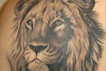 Lion Tattoos Inspiration / Collection of nice lion tattoos