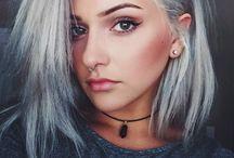 Haare grau Frisuren