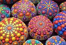 mosaicos piedra