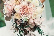 Making floral arrangements
