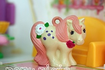 Charmkins / Also made by Hasbro, these can be linked to MLP because the pony charms are made in the same mold.