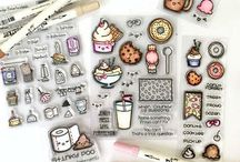 Sweet Release Graphics / Graphics featuring new monthly release bundles for Sweet Stamp Shop