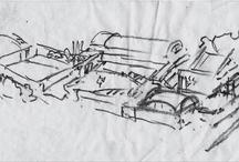 Dibujos - Sketches / by Rubén Plana