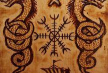 VIKINGS Symboles, Runes etc