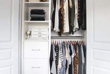 Girls closets