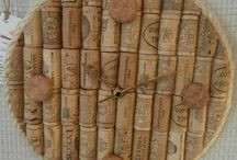 Upcycled Wine Corks / Useful items made using old wine corks