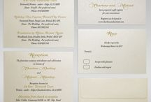 WEDDING INVITATION STEPWISE INSERTS / Wedding