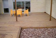 Instalación de pérgola de madera en Barcelona