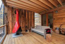 Rustic Modern Cabins