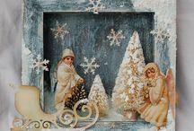 Рождество в стиле ретро