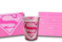 Super Girl Birthday Party Ideas, Decorations, and Supplies / Super Girl Party Supplies from www.HardToFindPartySupplies.com, where we specialize in rare, discontinued, and hard to find party supplies. We also carry several of the more recent party lines.