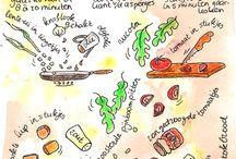 Recepten tekenen