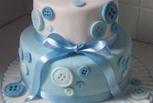 Keresztelös torták