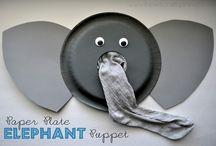 éléphant masque