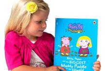 Muddy Puddle Peppa Pig / by Penwizard