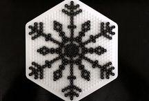 Hama Beads Winter