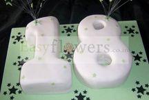 Number Eighteen Cake Designs