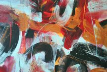 Courtney Jacobs, Studio Seven Arts / Original acrylic abstractions by Courtney Jacobs from Pleasanton CA