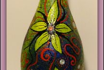 Painted bottle / by To Huong
