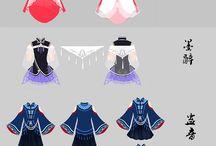 Costume design / Costume designing