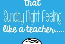 I is a teacher