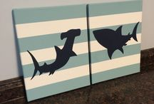 Shark bedroom