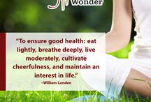 Healthy Lifestyle Quotes / A healthy lifestyle starts with the decision to lead one.